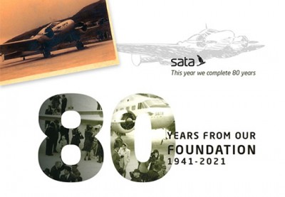 SATA Azores 80 years together