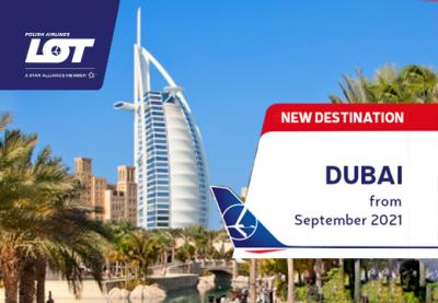LOT starts flights from Warsaw to Dubai