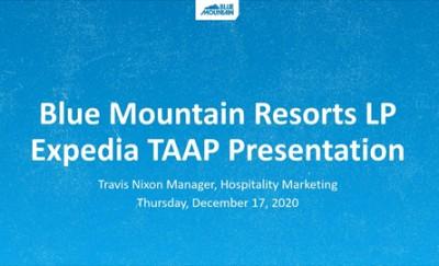 """Ski Destination Miniseries with Expedia TAAP Spotlight: Blue Mountain"""""""