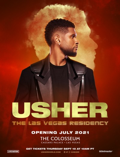 Usher Announces Headlining Las Vegas Residency at the Colosseum at Caesars Palace